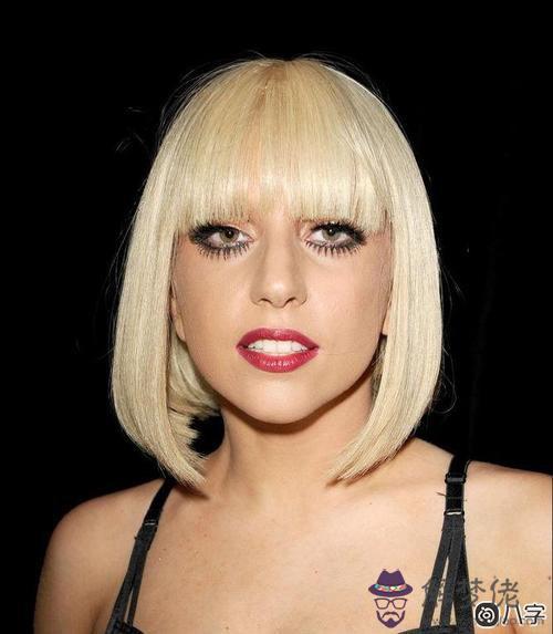 Lady Gaga生辰八字五行格局組合分析